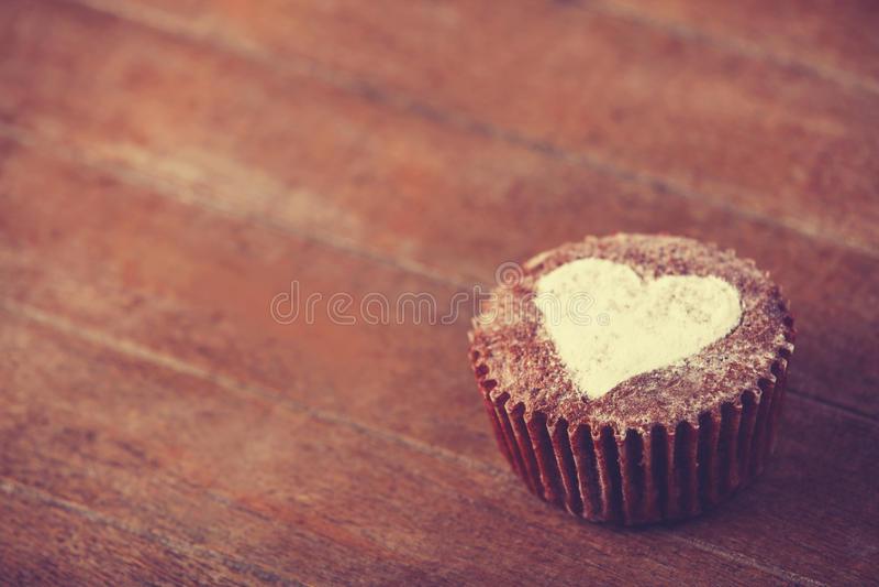 Торт с сердцем. стоковая фотография rf