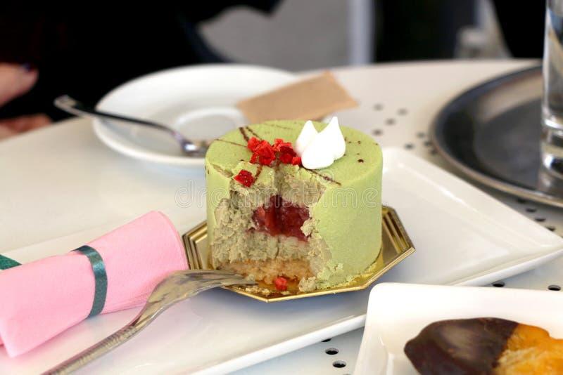 Торт фисташки стоковое фото