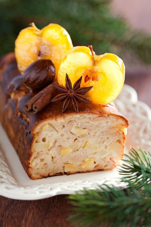 Торт хлебца Apple стоковые фотографии rf