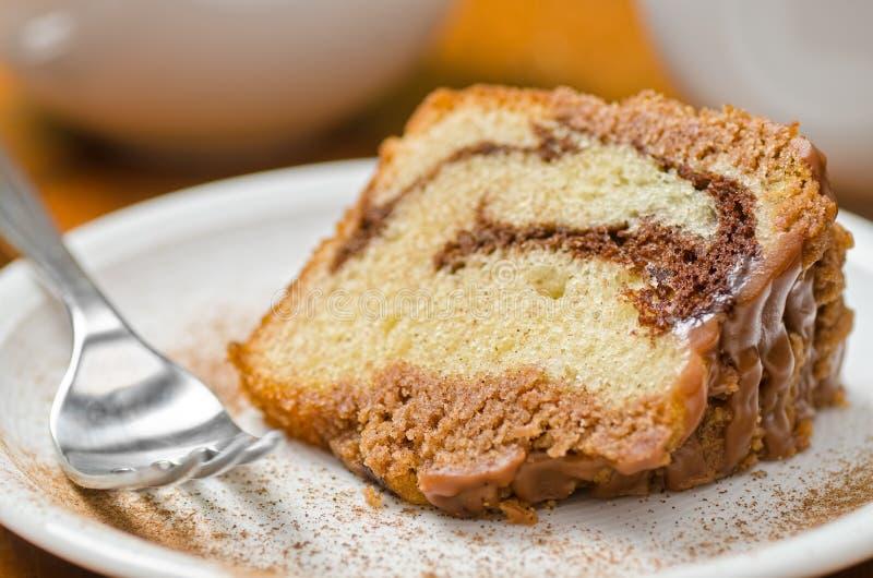 Торт циннамона стоковая фотография rf