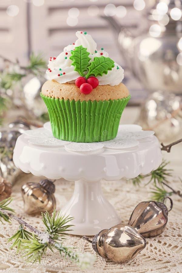 Торт чашки рождества стоковая фотография rf