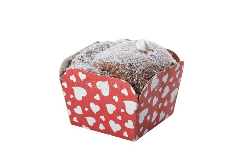 Торт чашки шоколада Deliciuos стоковая фотография rf