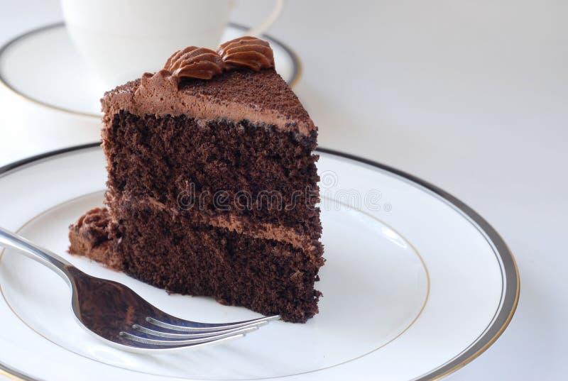 Download Торт шоколада стоковое изображение. изображение насчитывающей божественно - 40581991