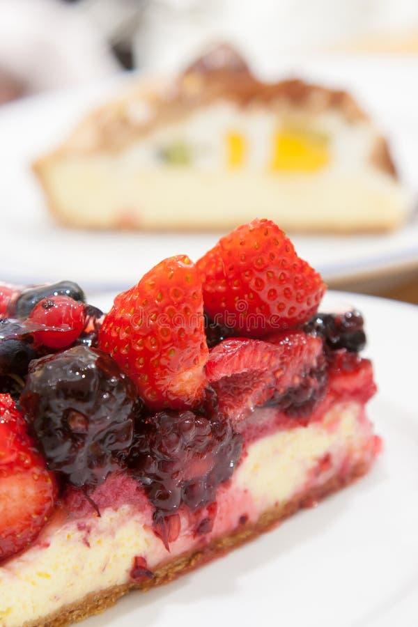 Торт ягоды смешивания кислый стоковые изображения rf