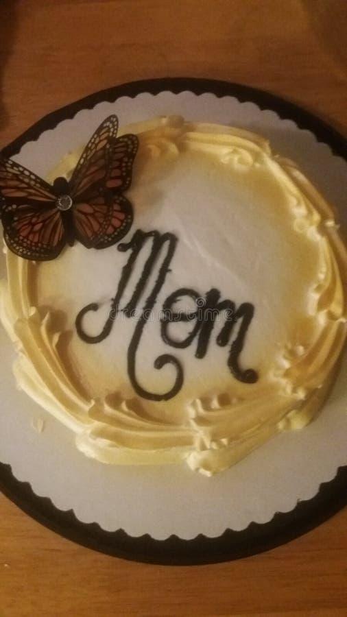 Торт я сделал для моей мамы на день матери стоковое фото rf