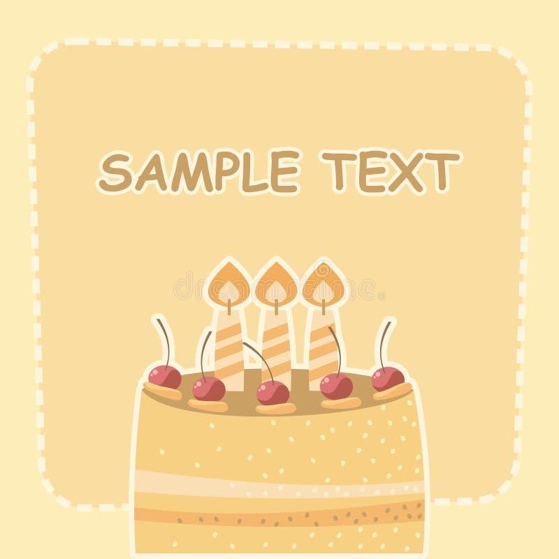 Download торт иллюстрация вектора. иллюстрации насчитывающей ребенок - 18380715
