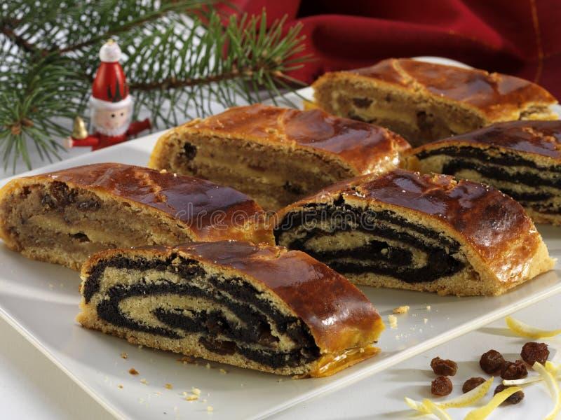 Торт Bejgli стоковое фото