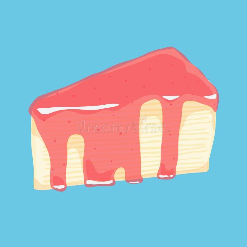 Торт Crepe стоковое фото rf