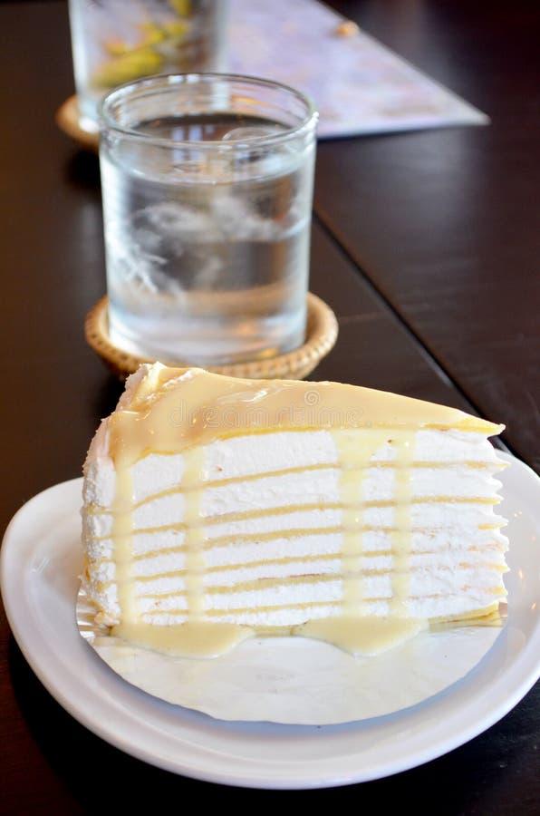 Торт Crepes стоковые изображения