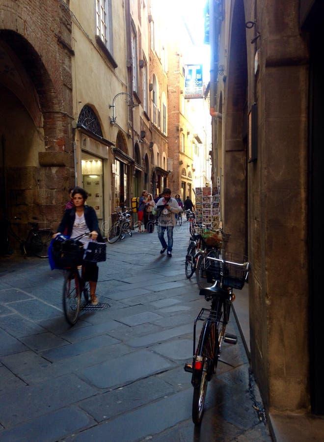 Тоскана, городской пейзаж стоковое фото