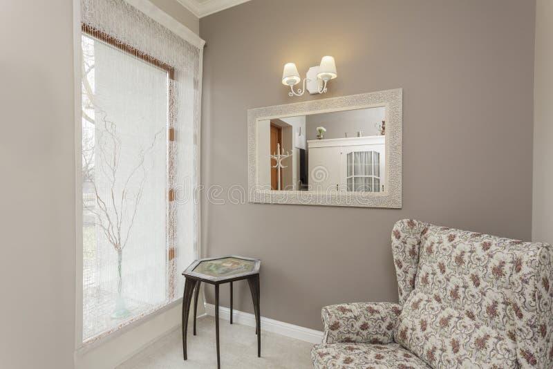Тоскана - живущая комната стоковые изображения