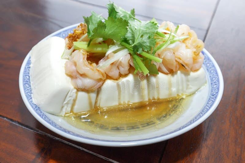 Тофу испаренное китайцем стоковая фотография