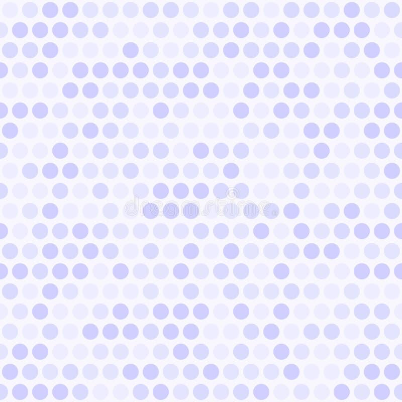 точечный растр польки вектор предпосылки безшовный иллюстрация штока