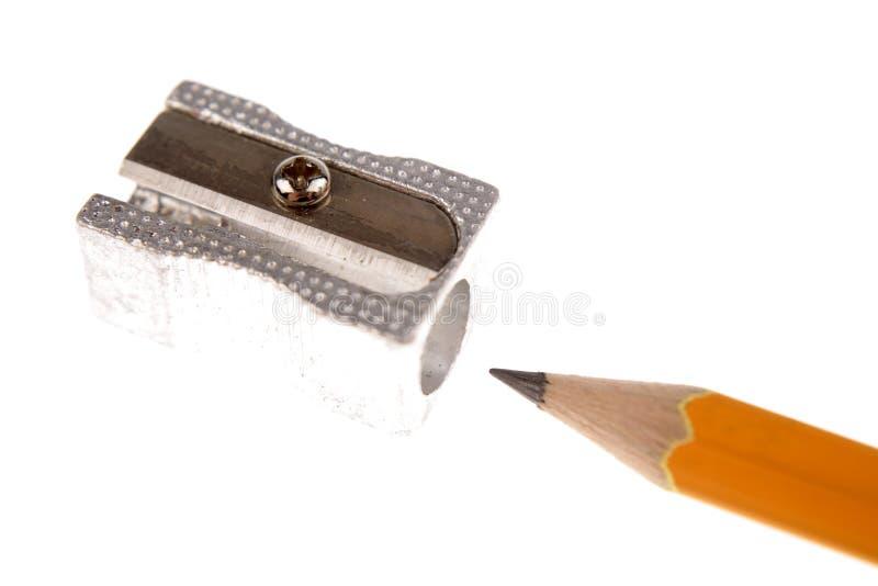 точилка для карандашей стоковое изображение