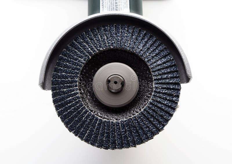 точильщик щитка диска стоковое фото