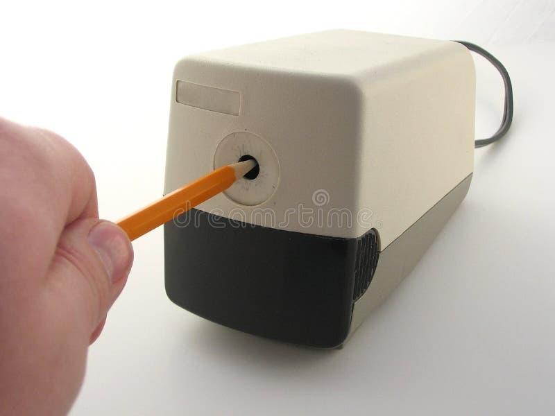 точить карандаша стоковое изображение rf