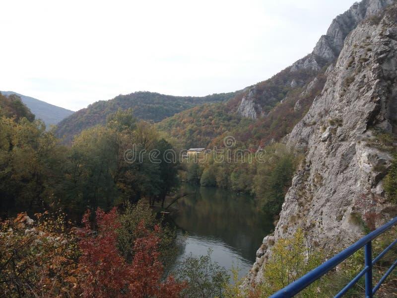 Точка зрения горы стоковое фото