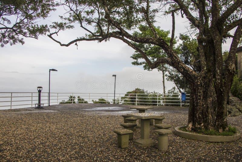 Точка зрения держателя Cruz - Florianópolis/SC - Бразилия стоковое фото