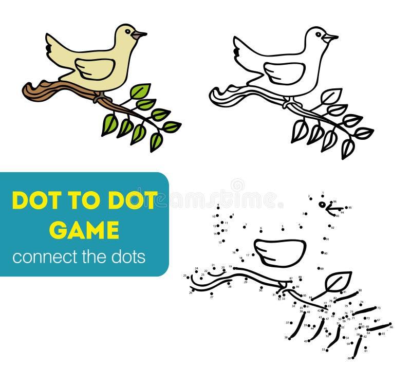 Точка для того чтобы поставить точки игры для детей бесплатная иллюстрация
