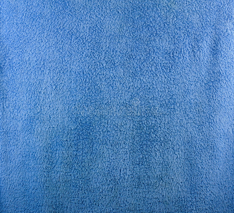 Точная текстура голубого полотенца ванны стоковые фотографии rf