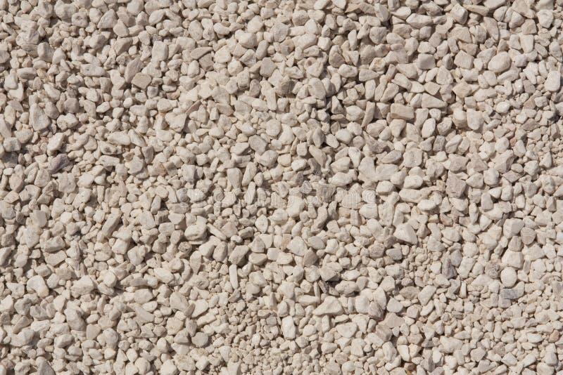 Точный и грубый гравий как предпосылка или текстура стоковое изображение