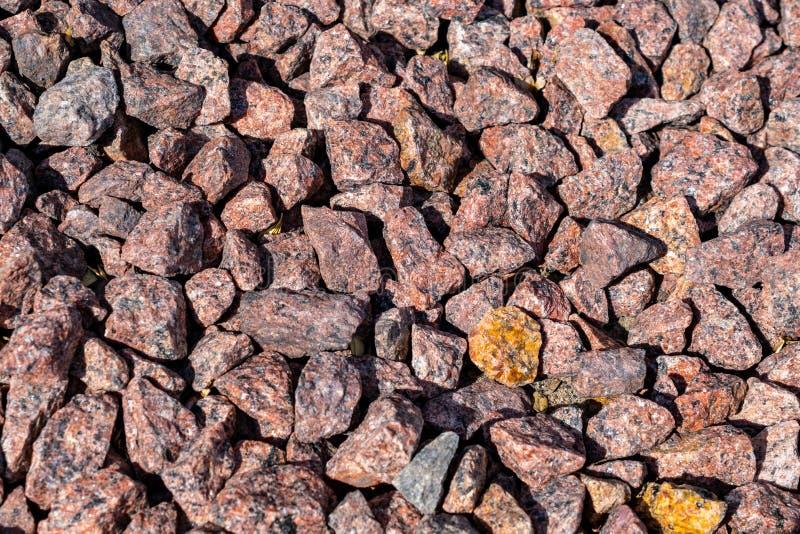 Точный красный камень кварца E стоковое фото rf