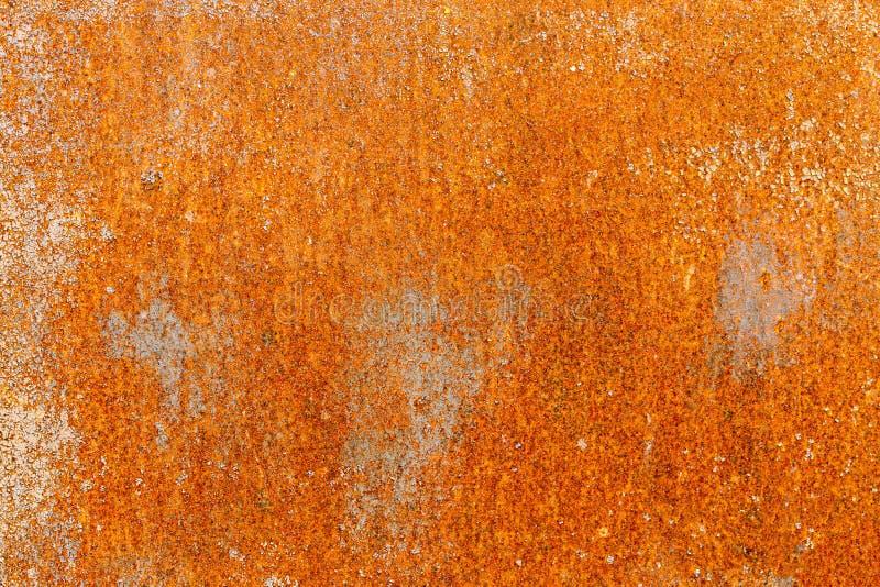 Точный grained заржаветый металл с краской шелушения стоковое фото