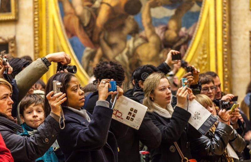 Толпа цифров стоковые фото