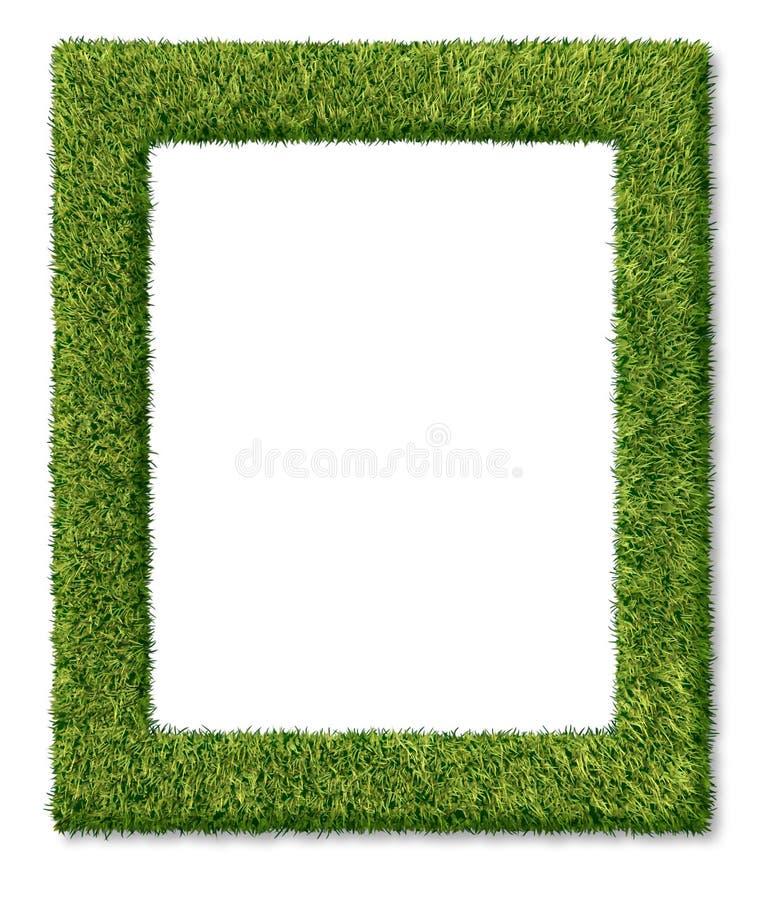 трава рамки