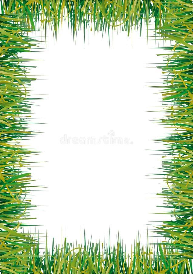 трава рамки иллюстрация вектора