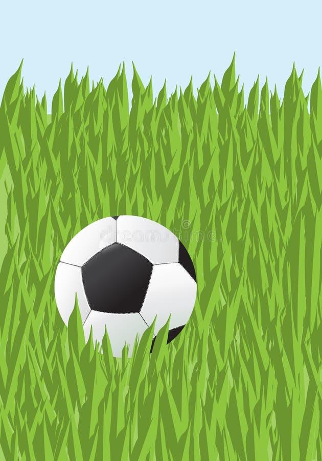 трава футбола стоковое изображение