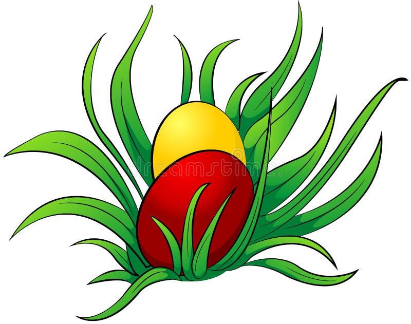 Download трава яичек иллюстрация вектора. иллюстрации насчитывающей яичка - 18384666