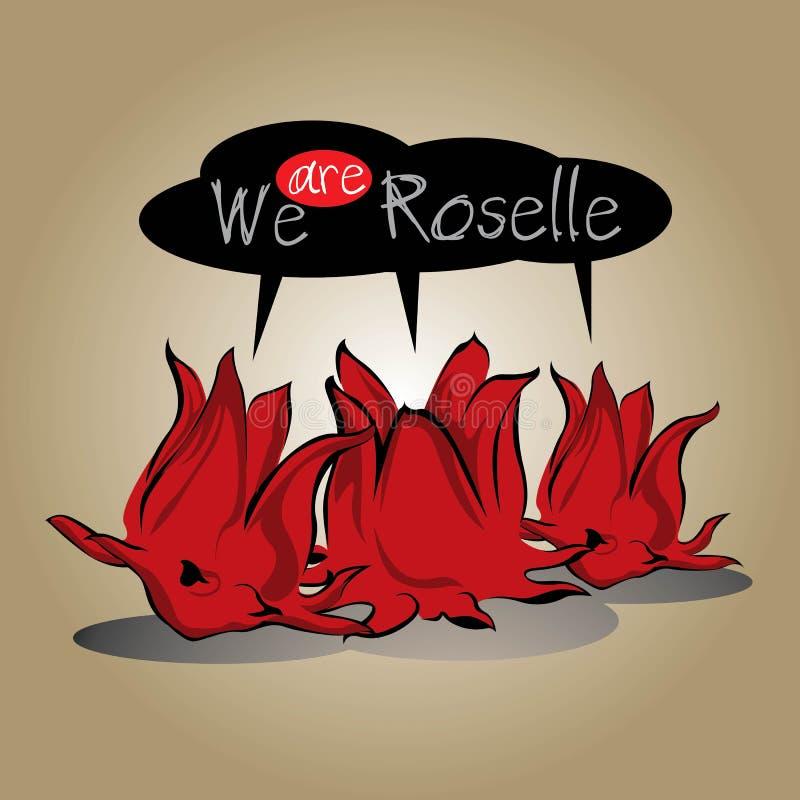 Трава Roselle стоковое изображение rf