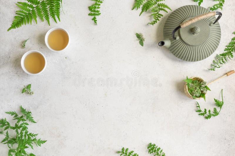Травяной чай стоковое изображение
