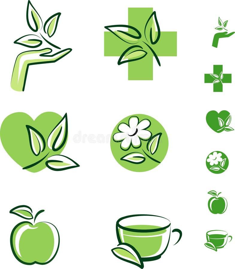травяные иконы бесплатная иллюстрация