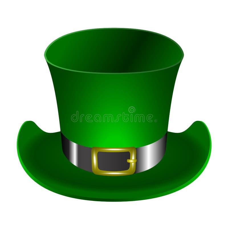 Традиционная ирландская шляпа иллюстрация штока