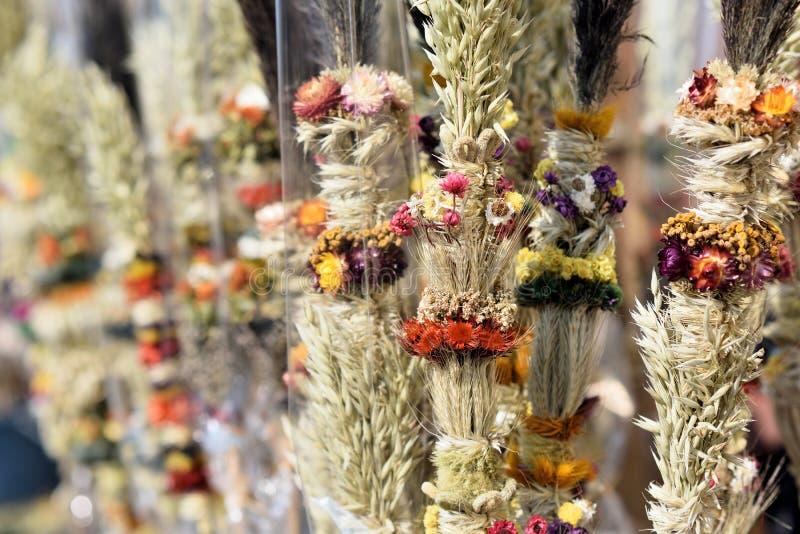 Традиционная ладонь пасхи Lithuanian стоковое изображение rf