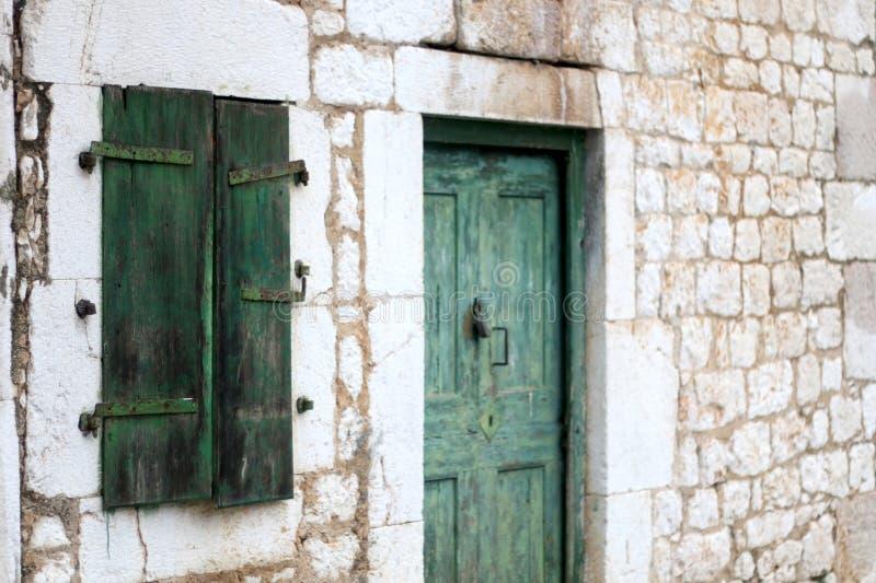 Традиционная среднеземноморская архитектура стоковая фотография