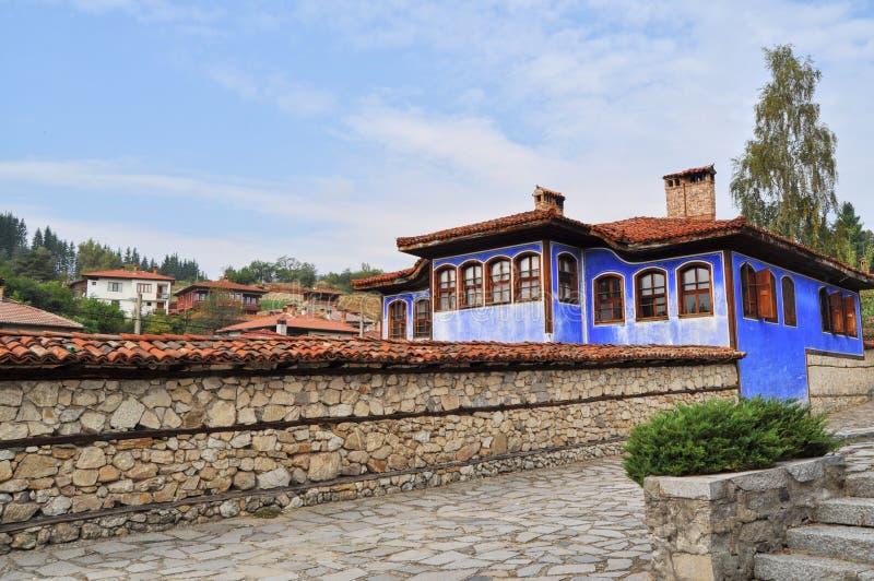 традиционное зодчества болгарское стоковые фотографии rf