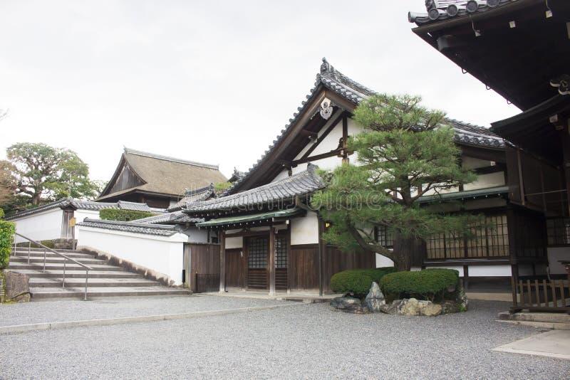 Традиционное японское здание стоковое фото rf