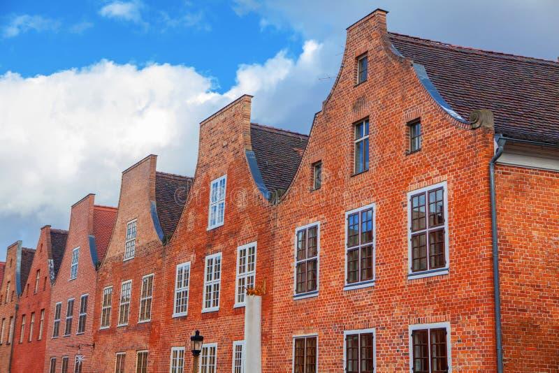 Голландский квартал в Потсдаме стоковое фото rf