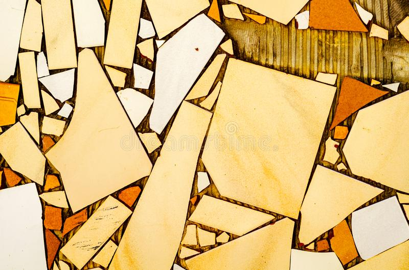 Традиционные орнаментальные испанские декоративные плитки, первоначально cerami стоковое фото