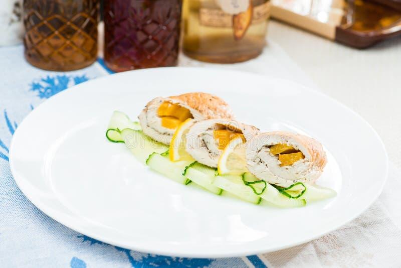 Традиционные польские блюда Селективный фокус на аппетитном delicio стоковое фото rf