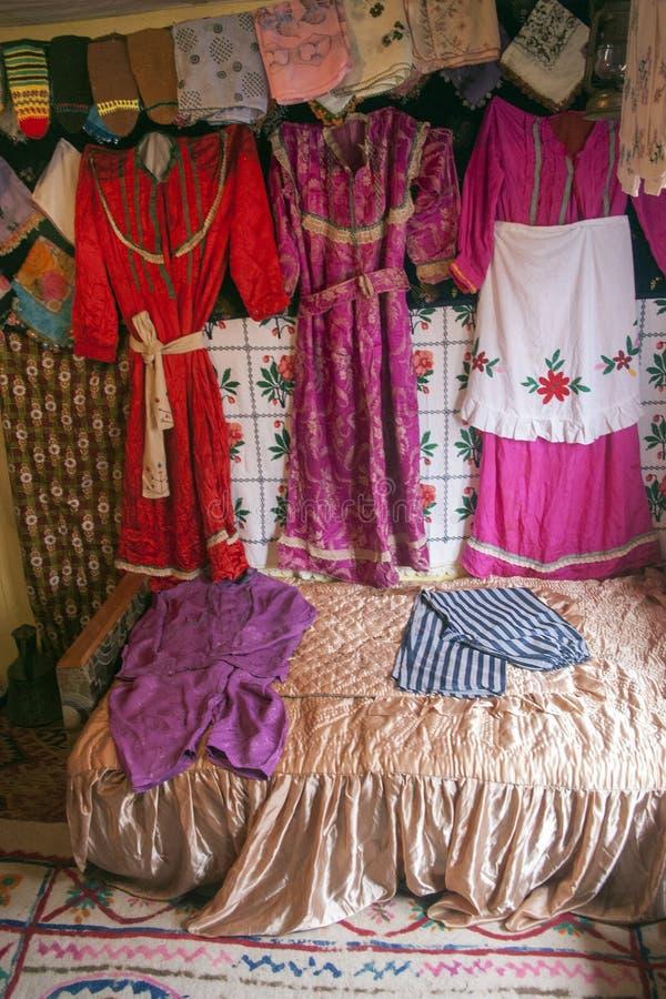 Традиционные турецкие одежды ` s невесты стоковые фотографии rf