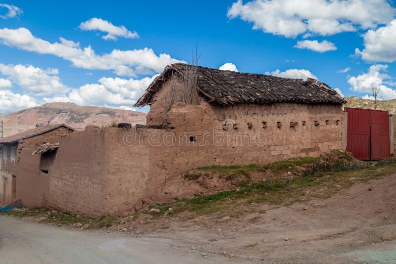 Традиционный дом самана стоковые изображения rf
