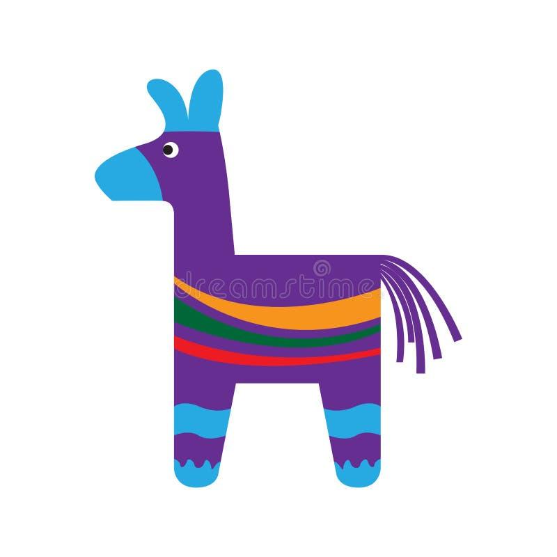 Традиционный мексиканский pinata бесплатная иллюстрация