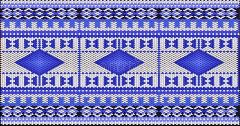 Традиционный орнамент жителей востока и арабского мира иллюстрация штока