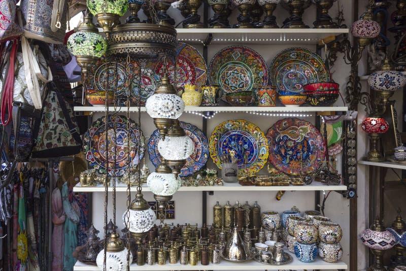 Традиционный стойл рынка в Мостаре стоковые фотографии rf
