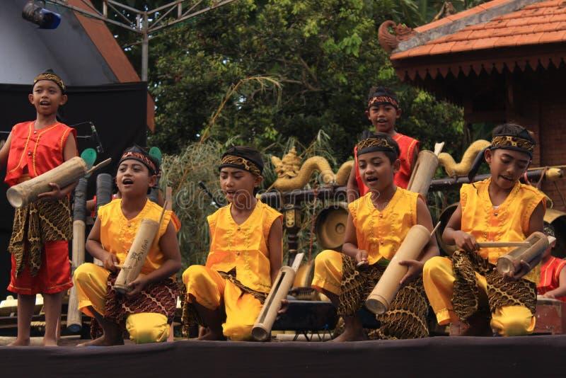 Традиционный танец phothography культуры East Java стоковое фото rf
