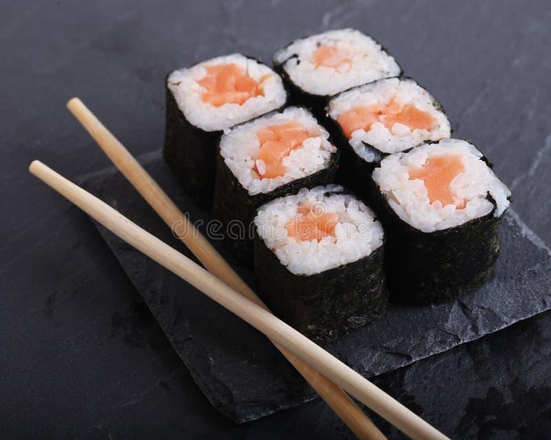 Традиционный японский конец еды вверх стоковое фото rf